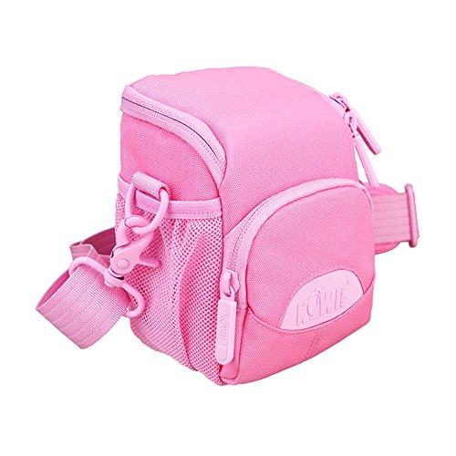 JJC Kiwifotos kcc-001 schoudertas met riem en regenjas voor camera - roze