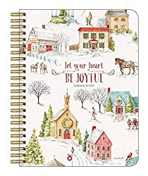 christmas notebook let your heart be joyful
