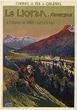 Le Lioran Auvergne Poster, Reproduktion, Format 50 x 70 cm,