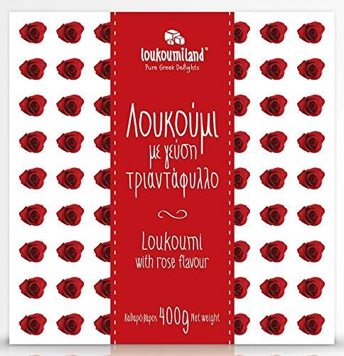 Rose Delicias Turcas - 400g / Receta Tradicional Delicias Griegas/Loukoumi