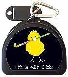Zumoe Field Hockey (Black) Mouthguard Case - Field Hockey Chick