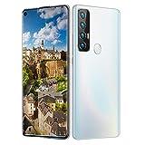 Teléfono Móvil, Rino5 Pro Android10.0 5G Teléfono Android Desbloqueado Con Tarjeta SIM Gratuita Smartphone, 12GB + 512GB 7.2inHD Pantalla Completa 18MP + 48MP 5000mAh Batería Grande, Huella Dactilar