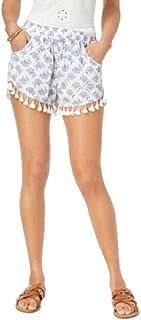 American Rag Juniors' Printed Tassel Soft Shorts