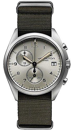 Gifts and Jewels Co. Hamilton Hamilton Pilota Pioniere Cronografo Mens Orologio H76552955