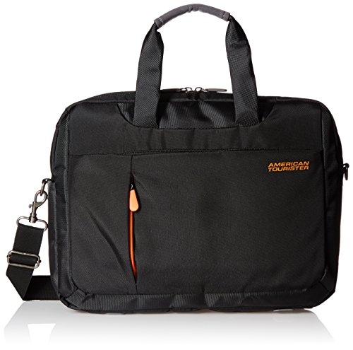 American Tourister Activair Polyester 13 inch 13 Ltrs Black Laptop Bag (56T (0) 09 008)