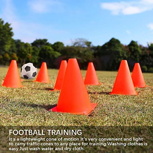 JBM 7-inch Training Cones Sports Cones Traffic Cones Sport Training Cones