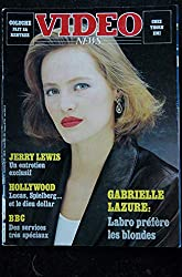 VIDEO News 23 - 1983 09 - Gabrielle Lazure Cover - Jerry Lewis - Lucas - Spielberg - Coluche - Labro - 120 pages