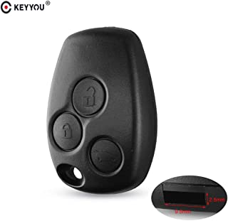 Calap-Store - 3 Buttons Remote Key Shell Case For Renault Duster Modus Clio DACIA