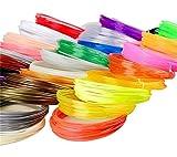 100% nuevo y de alta calidad. 100 nuevo y de alta calidad. El filamento es por la 3D pluma de impresión utilizado para derretir el plástico a una temperatura alta. Se utiliza para dibujar objetos en 3D del papel a la vida real. Si tienes algún proble...