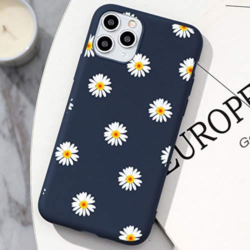 EWUEJNK Fashion Art - Carcasa para iPhone 11 12 Pro X Xs Xr Max Mini Se 2020 7 8 6 6S Plus 5 5S Se a prueba de golpes antiarañazos, resistente a la suciedad, azul, para iPhone 5 5S Se