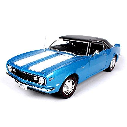 Haixin La Voiture de modèle en Alliage Simulation 1968 Style Chevrolet Z28, 01:18, Rouge et Bleu sont sélectionnables