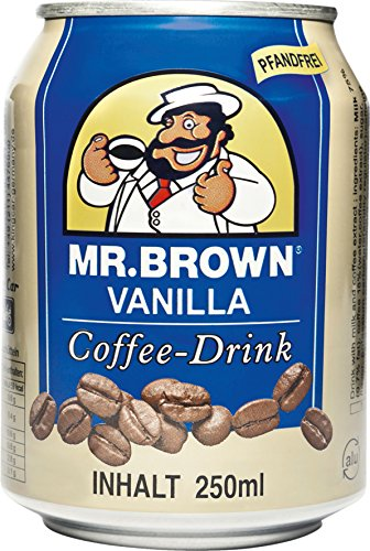 Mr. Brown Vanille, 24er Pack (24 x 250 ml)