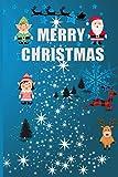 Fiber Optic christmas tree Spiral Notebook: Planner Organiser Stocking Filler