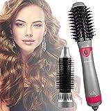 Chimpuk Brosse pour sèche-cheveux, mise à niveau des brosses à air chaud 5 en 1 pour la coiffure, coiffeur et volumateur à air chaud, sèche-cheveux ionique négatif pour tous les types de cheveux