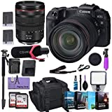 Canon EOS RP Mirrorless Digital Camera with RF 24-105mm f/4L is USM Lens w/ (Pro Microphone, 4 Pack Photo Editing Software & More)