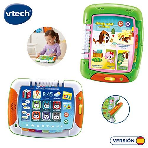 VTech- Libro-Tablet multiaventura (3480-611222)