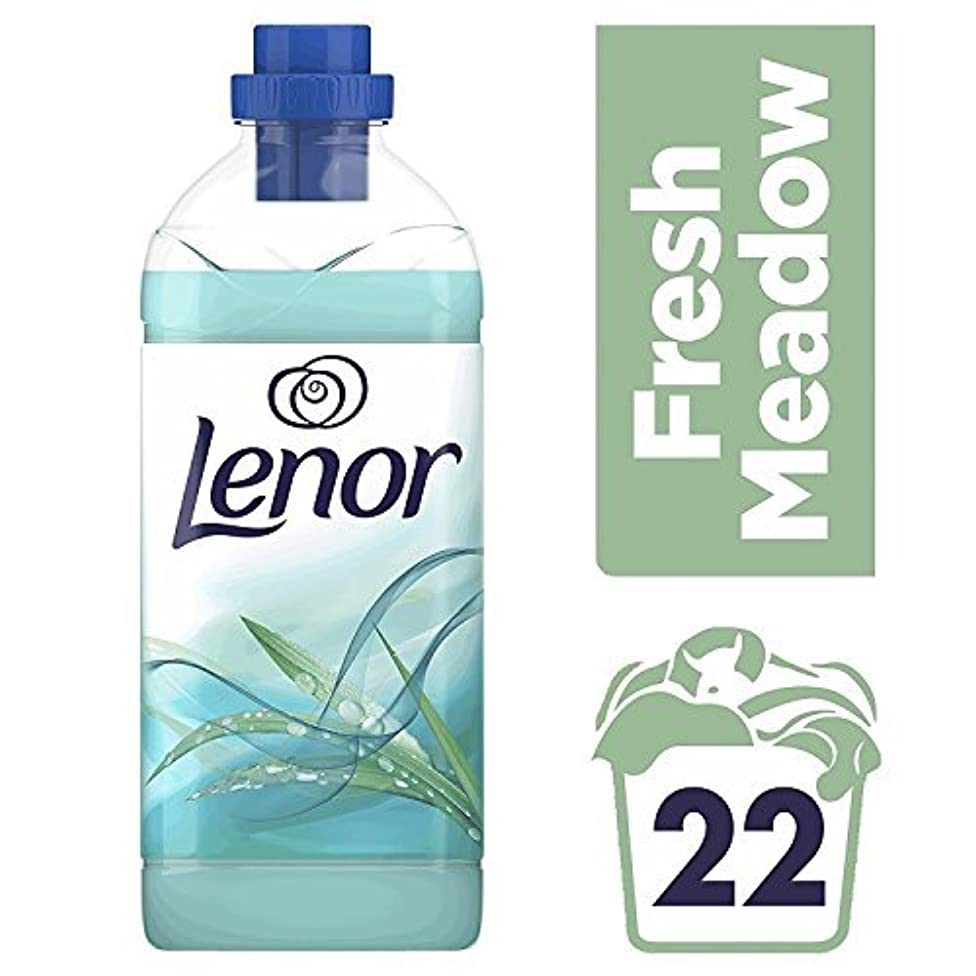 Lenor Fresh Meadow Fabric Conditioner, 22 Washes - 550 ml (Pack of 3)