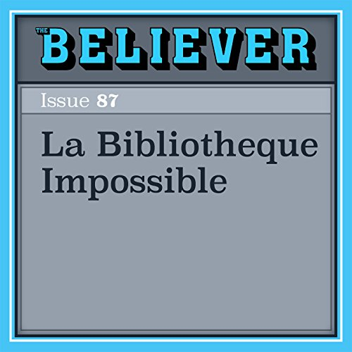 La Bibliotheque Impossible audiobook cover art