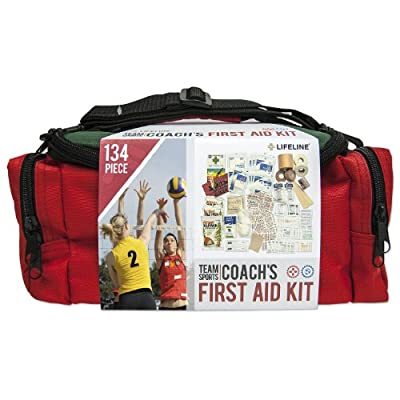 Lifeline Team Sport First Aid and Safety Kit, Stocked with Essential First aid Components for Emergencies Resulting from Outdoor and Team Sports Activities