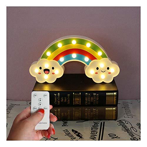 H-ei Cordon de Lampe de Style Explosion LED veilleuse décorative (Color : D)
