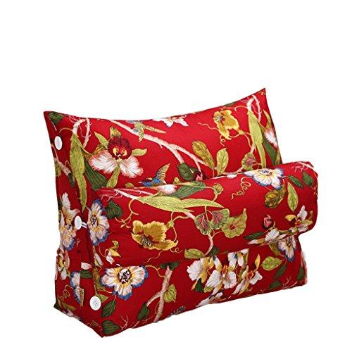 Preisvergleich Produktbild RFJJAL Dreieck,  Kissen,  Matratze,  Sofa,  Büro,  Zuhause,  gebraucht,  Taille (Color : E,  Size : 45 * 50 * 22cm)
