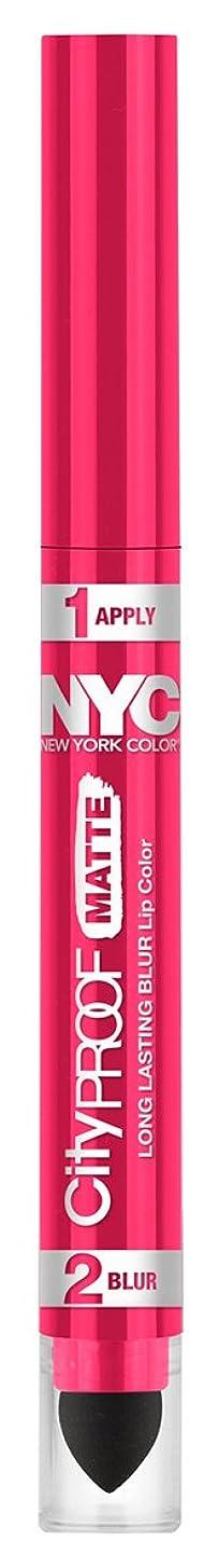 参加するモスク滞在NYC City Proof Matte Blur Lip Color - Fashion Fuchsia (並行輸入品)