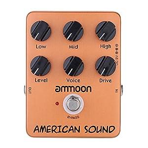 ammoon AP-13 American Sound Amp Simulator Chitarra Pedale Effetto True Bypass – Chitarra Effetti