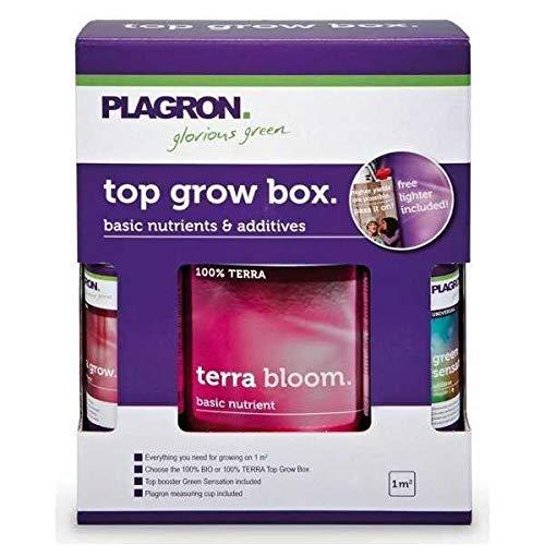 Kit d'engrais / de Fertilisants Plagron Top Grow Box Start (100% Terra)