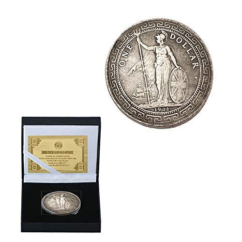 Yuan Tibet Altes Silber Yuan. Silber- Münze Sammlung Altes Geld Antiquität Authentisch Münze Versammeln/Silber/Runden