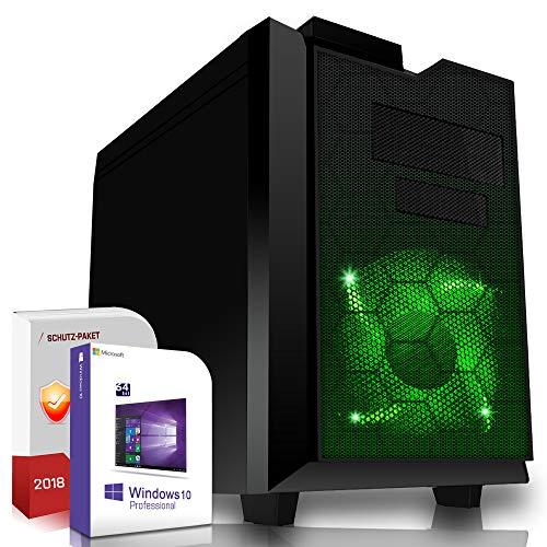 Multimedia Gaming PC AMD A10-8770 Pro 4x3.8GHz |ASUS Board|8GB DDR4|500GB HDD|Radeon R7 Series HDMI|DVD-RW|USB 3.0|SATA3|Sound|Windows 10 Pro|GigabitLan|3 Jahre Garantie|Made in Germany|Computer Deskt