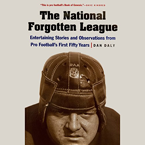 The National Forgotten League audiobook cover art