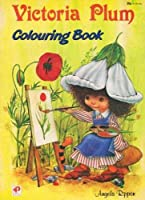 VICTORIA PLUM COLOURING BOOK