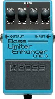 BOSS Bass Limiter/Enhancer Guitar Pedal (LMB-3)