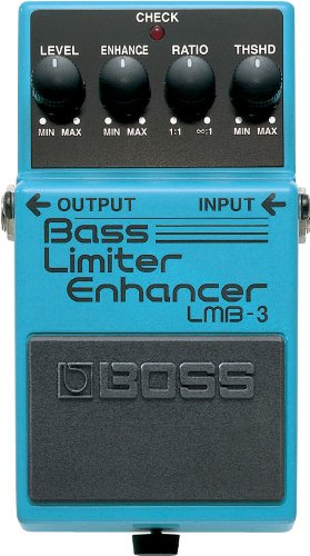 BOSS Bass Limiter/Enhancer Guitar Pedal (LMB-3)