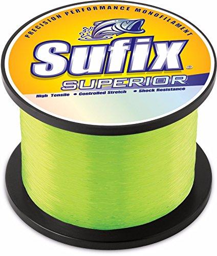 Sufix Superior 1/4-Pound Spool Size Fishing Line (Yellow, 12-Pound)