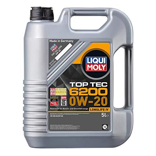 Liqui Moly Top Tec 6200 0W-20 Motoröl, 5 Liter