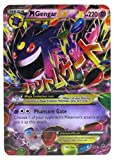 New Mega Cards New Set of Gengar Mega EX 35/119 Flash Cards Standard English Cards 2.5' x 3.5' Come with Random 2 GX and 2 GX Cards in Plastic Box Case