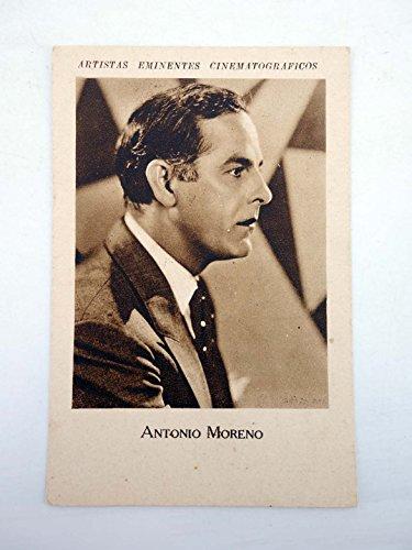 ARTISTAS EMINENTES CINEMATOGRÁFICOS. Antonio Moreno. Tintes Iberia