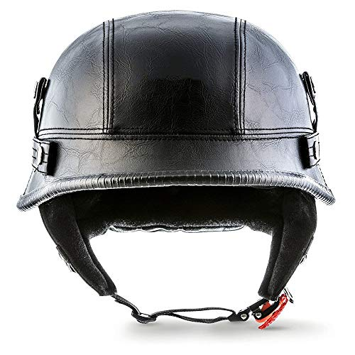 Brain-Cap · Motorcycle-Helmet Vintage Jet-Helmet Half Helmet Pilot Helmet Men's Bicycle Summer Helmet Motorbike Open Face Helmets ECE/DOT Approved