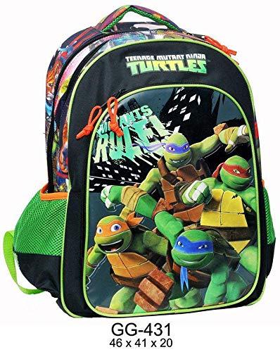 Tortugas Ninja Oval 3 Cremalleras Grande