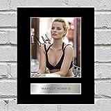 Margot Robbie Photo dédicacée encadrée