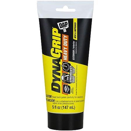 DAP INC 27508 adhesive-caulk, 1 Pack, White