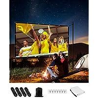 Strenter 120 Inch 16:9 4K Foldable Anti-Crease Portable Projector Screen