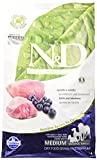 Farmina–N&D - Pienso sin cereales, con sabor a cordero y arándanos,2,5kg