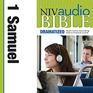 Dramatized Audio Bible - New International Version, NIV: (08) 1 Samuel audiobook cover art