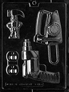 Cybrtrayd Life of the Party D085 Power Tools for Specialty Box Chocolate Candy Mold in Sealed Protective Poly Bag Imprinted with Copyrighted Cybrtrayd Molding Instructions