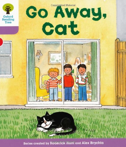 Oxford Reading Tree: Level 1+: More First Sentences A: Go Away Catの詳細を見る