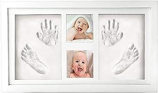 McNory bebé Handprint y Marco de huella Inkpad de fotos
