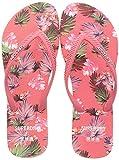Superdry F3-Flip Flop, Mocasn Mujer, Coral Palm, 36 EU