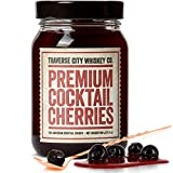 Premium Cocktail Cherries for Cocktails and Desserts | All American, Natural, Certified Kosher,...